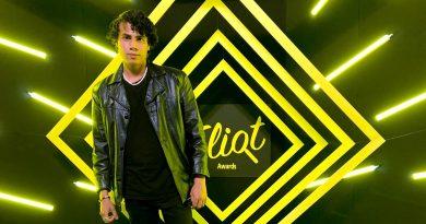 Danny Álvarez en los premios Eliot Awards 2021